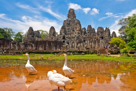 cambodge: bayon,siem reap ,Cambodia