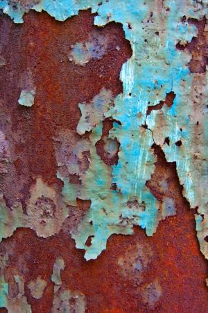 corten: A rusty iron texture