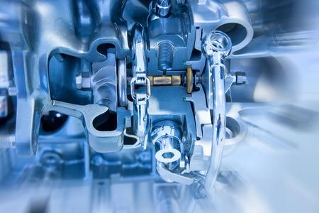 mechanical energy: Car engine part