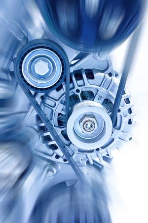 mechanical engineering: Car engine part