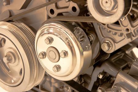 poleas: Car parte del motor