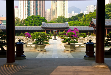 Nan Lian Garden,This is a government public park,situated at Diamond hill,Kowloon,Hong Kong photo