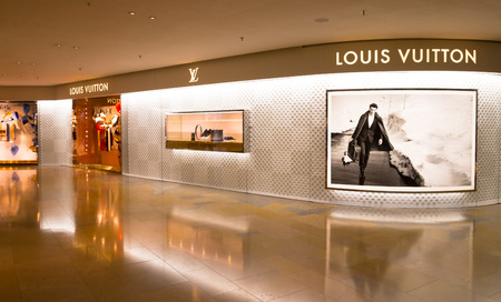 louis vuitton: Negozio Louis Vuitton a Hong Kong