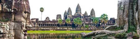 Iconic stone statue, Angkor, siem reap, Cambodia,
