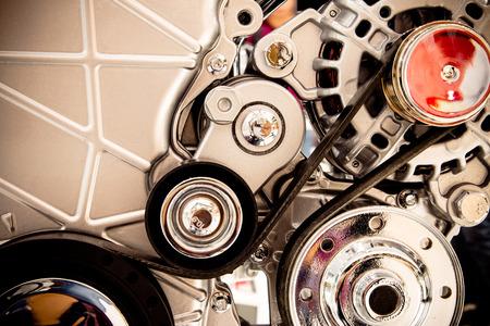 automotive industry: Car engine part