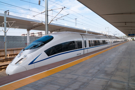 High-speed trains, China