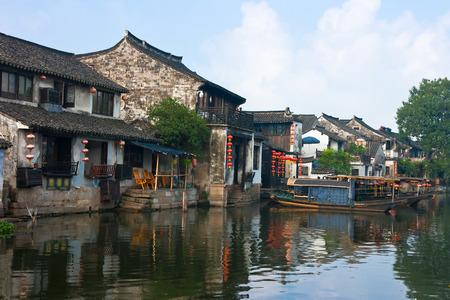 Xitang ancient town, China photo