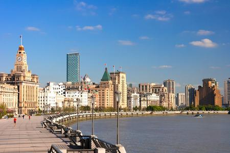 Shanghai Bund historical buildings, China