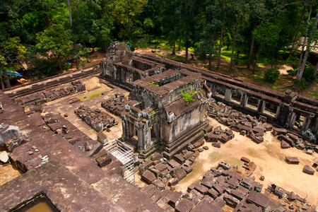 cambodge: Ta Keo, siem reap, Cambodia, was inscribed on the UNESCO World Heritage List in 1992.