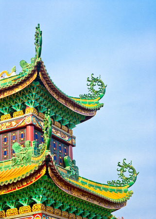 chinese temple: Ancient Chinese Architecture Editorial
