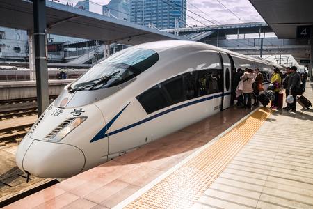 High-speed trains in Guangzhou