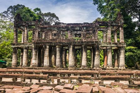 siem: Preah Khan, siem reap, Cambodia