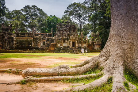 siem: Angkor, Siem reap, Cambodia Stock Photo