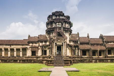 minutiae: Angkor wat, Siem reap, Cambodia Stock Photo