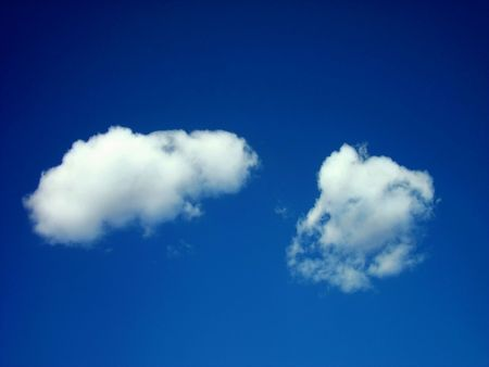 blue sky with clouds Stock Photo - 5124757
