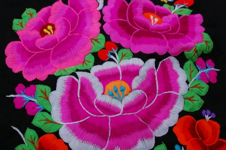 Embroidery ,Chinese Stock Photo