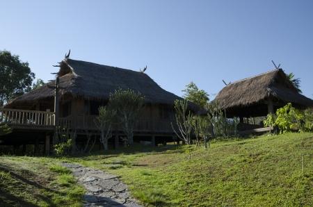 Wa stockaded village