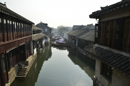 Ancient towns of china,zhouzhuang Stock Photo