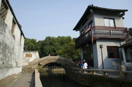 zhouzhuang: Ancient towns of china,zhouzhuang Stock Photo