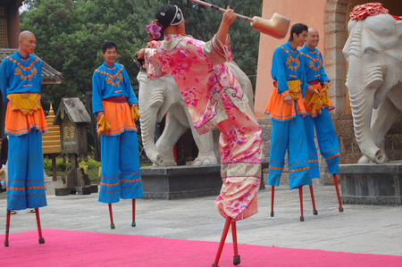Stilts performance Editorial