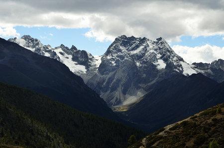 Baima  snow mountain Stock Photo
