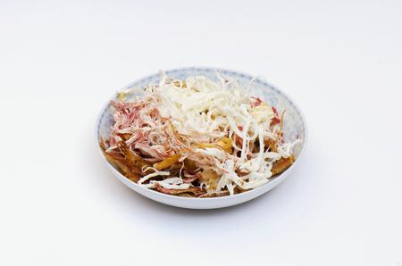 shred: Dried squid shred