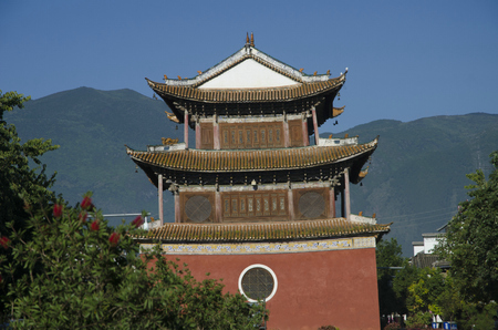 architectural style: Ancient architectural style tower