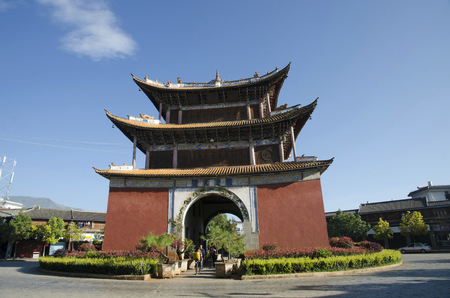 architectural style: Ancient architectural style building