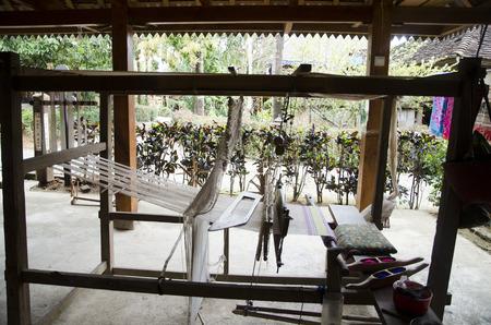 loom: Closeup of loom