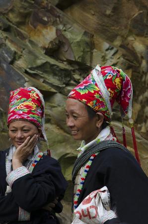 etnic: Yao etnic women, Yunnan