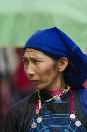 ethnic customs: Yao ethnic women, Yunnan, Jin Ping