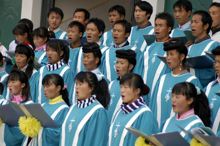 miao: Miao ethnic choir, China, Kunming Editorial