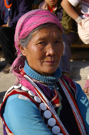 Lisu women, China, Yunnan, Nu River