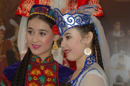 xinjiang: Xinjiang beauty ladies