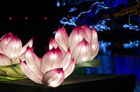 Mid autumn festival Lotus Lantern