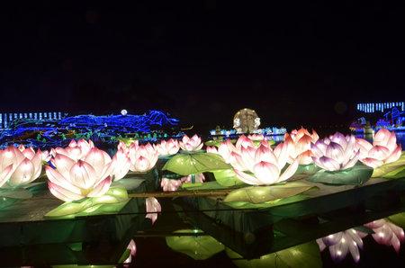 lotus lantern: Mid autumn festival Lotus Lantern