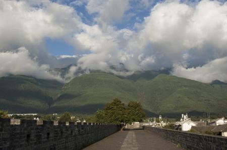 Cangshan, Dali, Yunnan, China Stock Photo