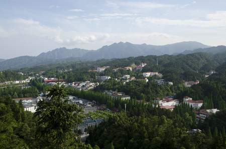 Jinggang Mountain scenery