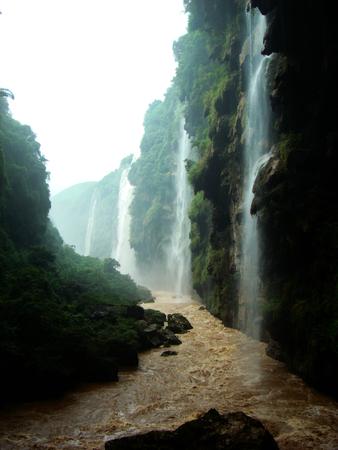 Maling River Grand Canyon, Guizhou, Chinese Stock fotó