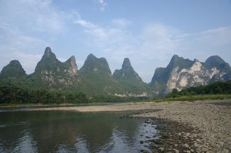 Lijiang River, Guilin, Guangxi, China Stock Photo
