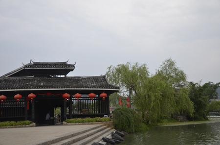 ethnic customs: Shiwai Taoyuan, Guangxi, China