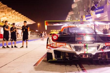 gt3: Ferrari 458 Track Car in MMER Stock Photo