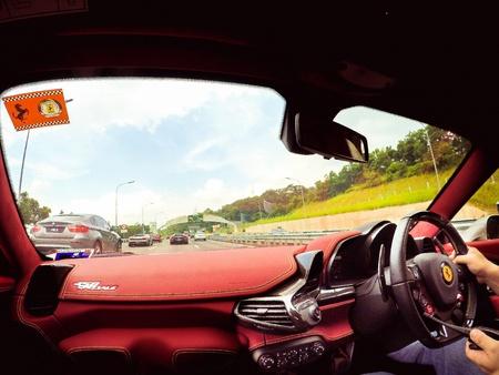 interior: Ferrari 458 Speciale Interior