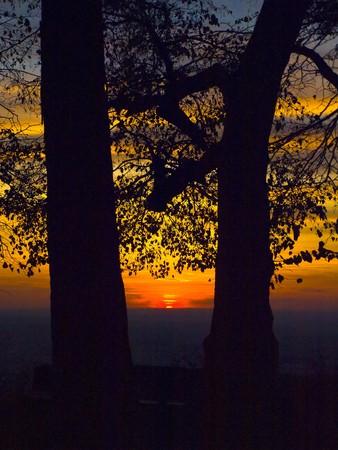 lowkey: sunset in low-key