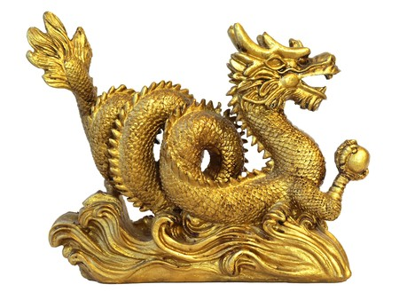 chinese philosophy: chinese dragon for happyness and luck