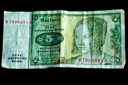 5 Deutsche Mark  photo