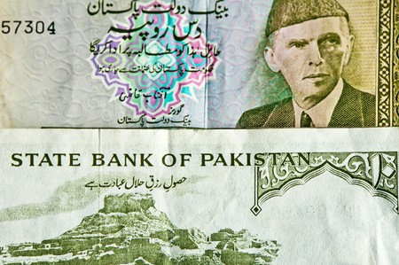 rupees: 10 and 5 Pakistan Rupees