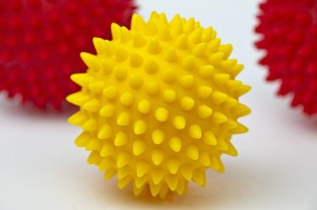 soften: massage balls Stock Photo
