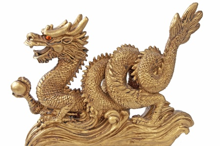 chinese philosophy: chinese dragon for happiness and luck