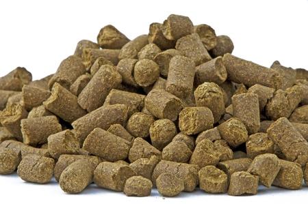 pellets: pellets of hops